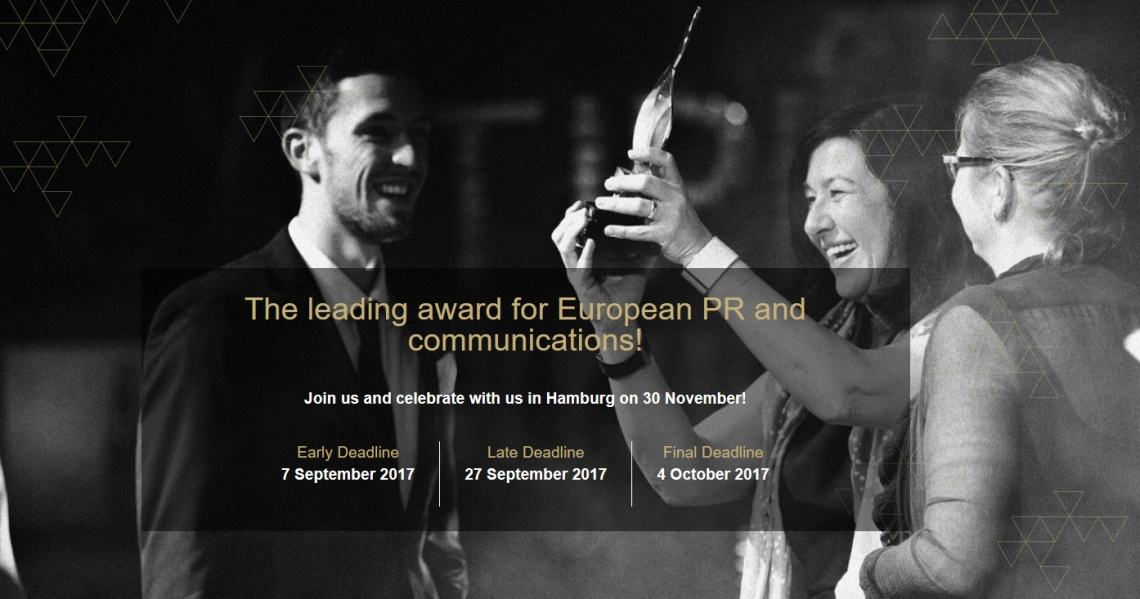 European Excellence Awards in PR & Communications 2017